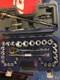 stainless steel socket wrench set in box Herndon, 20170