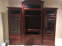 Solid wood wall unit Vaughan