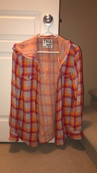 TNA Flannel Shirt Sz Small Langley, V3A 9L4
