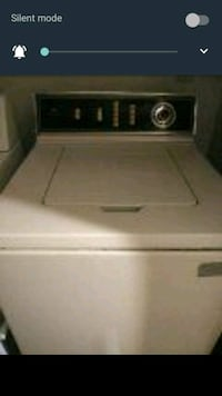 white top-load clothes washer Manteca, 95337