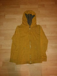 women's brown button-up jacket 554 km