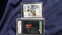 two baseball trading cards Fairfield