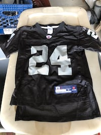 YOUTH LARGE MICHAEL HUFF OAKLAND RAIDERS VINTAGE REEBOK JERSEY Lake Elsinore, 92532