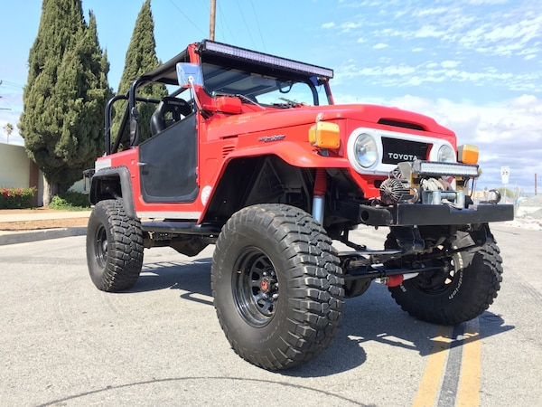 Used 1976 Toyota Fj40 Land Cruiser With Ls Engine For Sale In