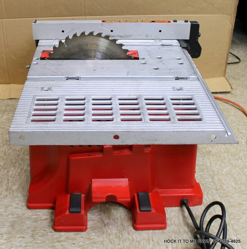 used tradesman woodworker 10 13 amp bench table saw bt for sale in rh us letgo com