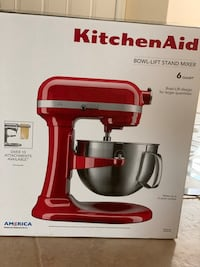 Used New *KitchenAid 6qt Bowl-Lift Pro-600 mixer w stand and accessories  for sale in Temecula - letgo
