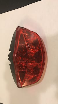 red vehicle taillight 47 km