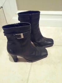 Black leather boots Sarnia, N0N 1C0