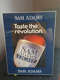 Light up Sam Adam sign Connecticut, 06335