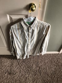 women's gray and white long sleeve blouse Toms River, 08753