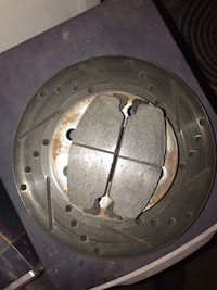 Honda Civic drilled rotor with pads Carson City, 89701