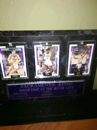 three Sacramento Kings player trading cards Cotati, 94931