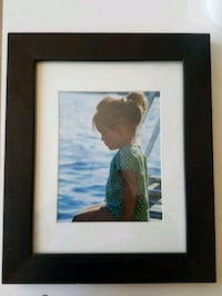 """Black 14.5"""" x 18"""" photo frame with matting Queens, 11101"""