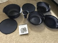 Tupperware NEVER USED stack cooker full set  546 km
