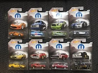 Hot Wheels Mopar Complete Set of 8 Oklahoma City