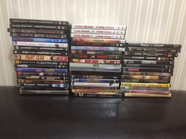55 movies on DVD for sale