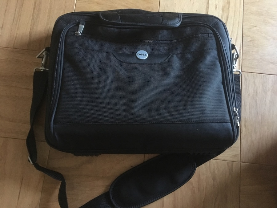 Black Dell Laptop Bag