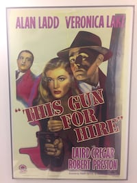 This Gun for Hire Movie Poster and Frame Toronto, M5V