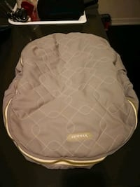Winter infant car seat cover