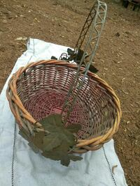 Decorative wicker basket Bartow County