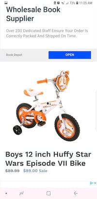 toddler's white and red trike screenshot Hollywood, 33026