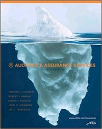 Auditing and Assurance 4th edition Vaughan, L6A 1M5