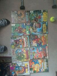 assorted Marvel comic book collection Fountain, 80817