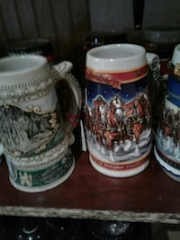 three beer stein mugs Kearneysville, 25430
