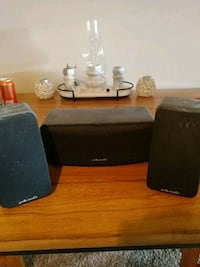 Polk audio stereo speakers 290 mi