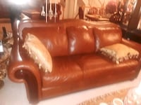 Cognac color, leather sofabed Queen  Upper Marlboro, 20772