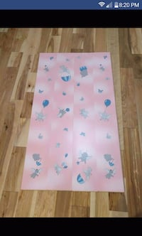 white and blue floral mattress Laval, H7G 3E3