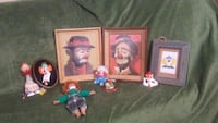 A vintage collection of clowns Mississauga, L4W 3M9