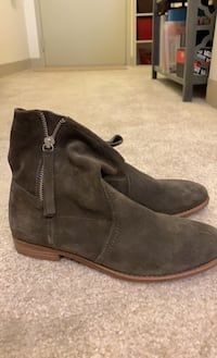 Shoes - Army Green Booties