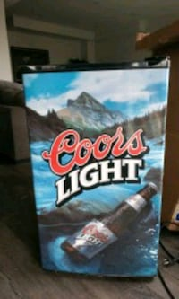 Coors Light-Up poster Burlington, L7L 7N1