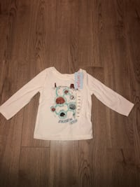 Brand new baby long sleeve shirt size 18m with tags Mississauga, L5B 1P2