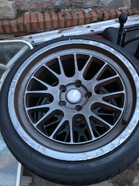 """18"""" Low Profile Rims and Tires"""