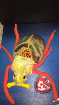 Green and orange beetle Ty beanie baby Peoria, 85345
