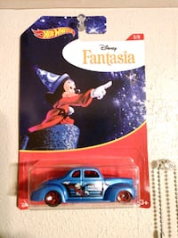 Fantasia Disney Mickey Mouse HotWheels Car Charleston, 29414
