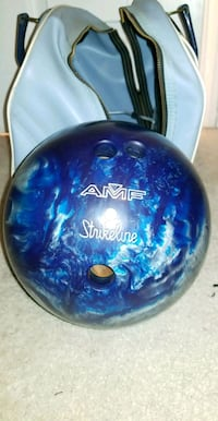 Bowling ball with bag Lubbock, 79416