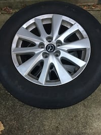 Mazda CX-5 Sport P225/65R17 Alloy Wheels and Tires Jessup, 20794