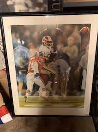 Art Monk signed picture  Baltimore, 21230