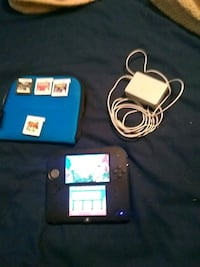 2ds with 4 games and case and charger  Garden Plain, 67050