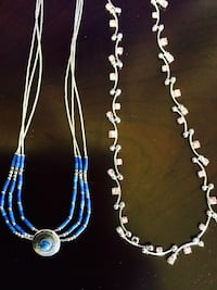 Assorted Silver and Blue beads necklace and other jewelry / Welcome to visit   Alexandria, 22311