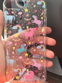 black and pink floral iPhone case Sherman, 75090