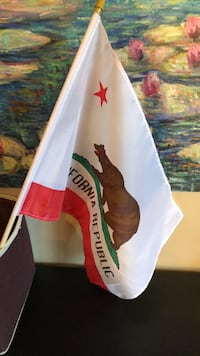 California Republic Flag new