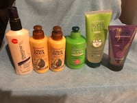 6 bottles of hair styling products Kings Mountain, 28086