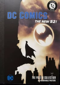 DC Comics The New 52 Loot Crate Exclusive Poster Collection Booklet Co