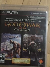 God of War Collection PS3 game Winnipeg, R3T 1P5