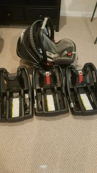 Gracco Car seat and 3 bases Capitol Heights, 20743