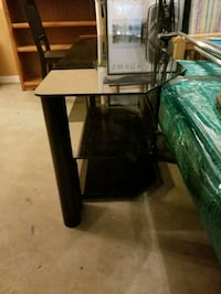 TV Stand - glass with shelves 31 km
